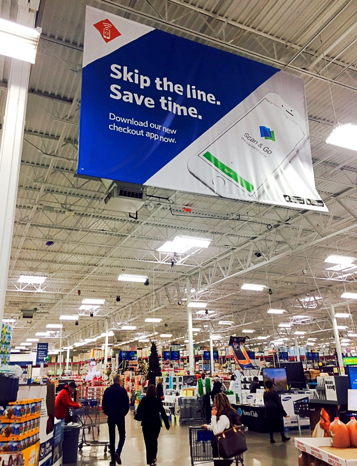 Sam's Club Scan & Go App Save Time & Skip The Lines