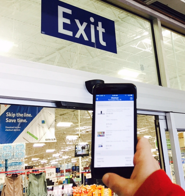 Sam's Club Scan & Go App Skip The Lines