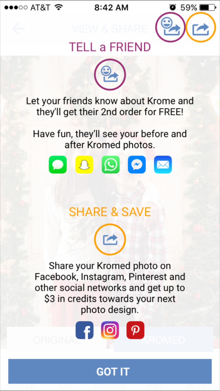Krome Studio Refer A Friend