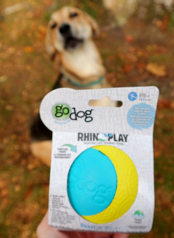 One World Play Project Durable Dog Ball