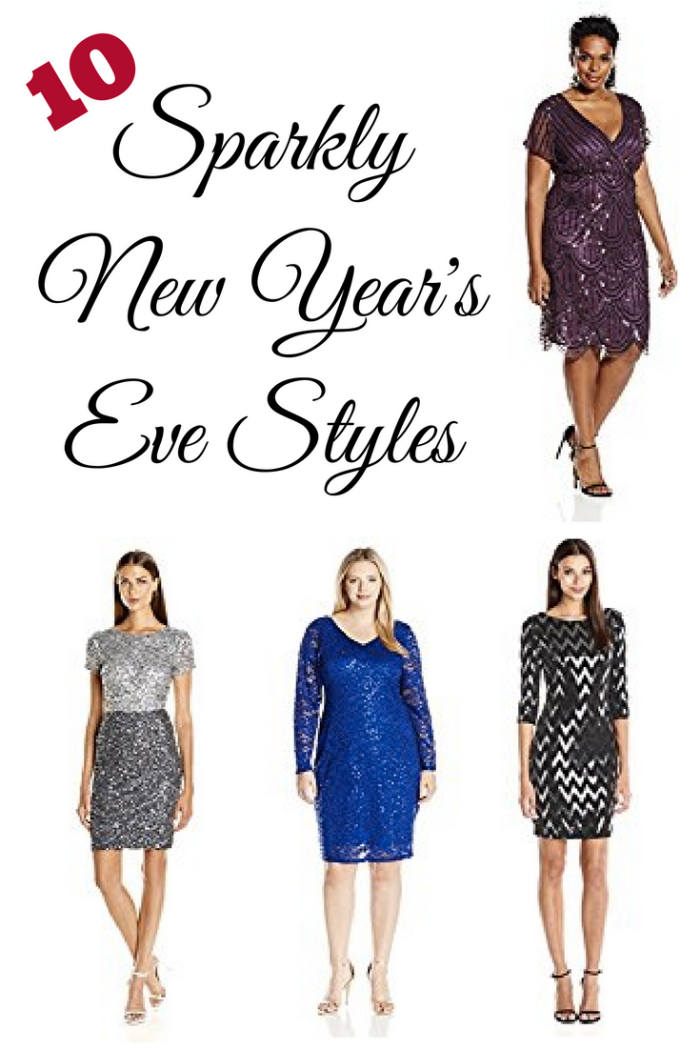Sparkly New Year's Eve Styles