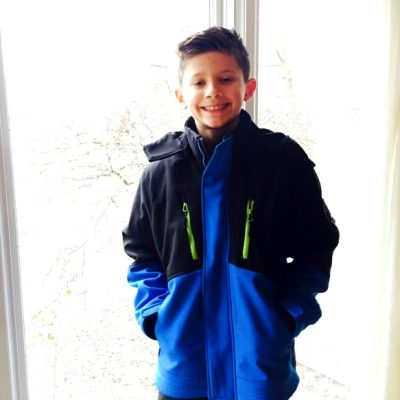 Warm Winter Boys Coats