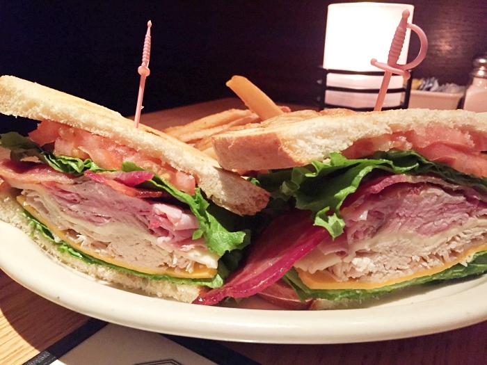 Myrtle Beach Carolina Roadhouse Club Sandwich