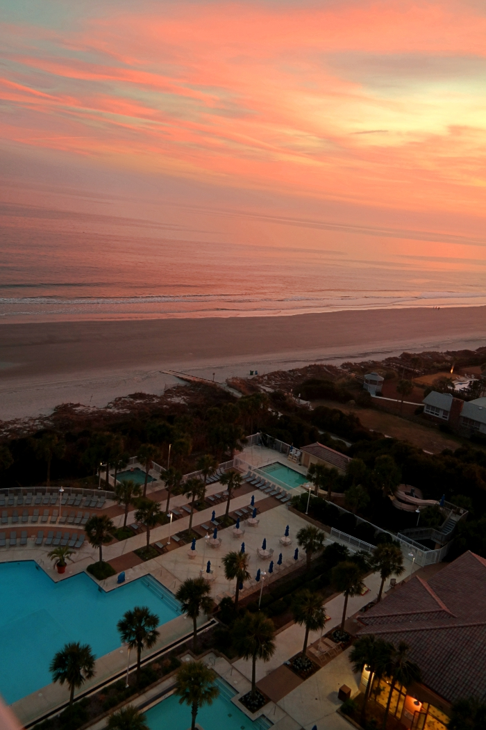 Myrtle Beach Marriott Resort & Spa Grand Dunes Sunset