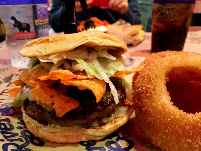 Myrtle Beach River City Cafe Dorito Burger