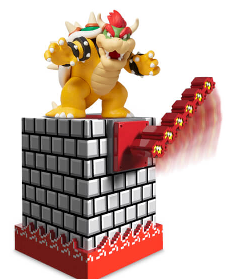 Nintendo Bowser's Castle Amiibo Display Stand
