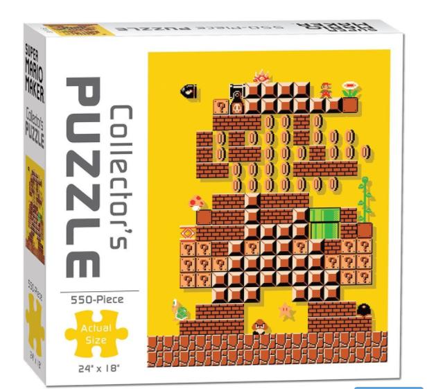 Nintendo Mario Maker 500 Piece Puzzle