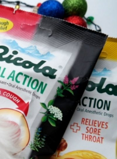 Soothing Post Holiday Sore Throats & Coughs With Ricola Dual Action Drops