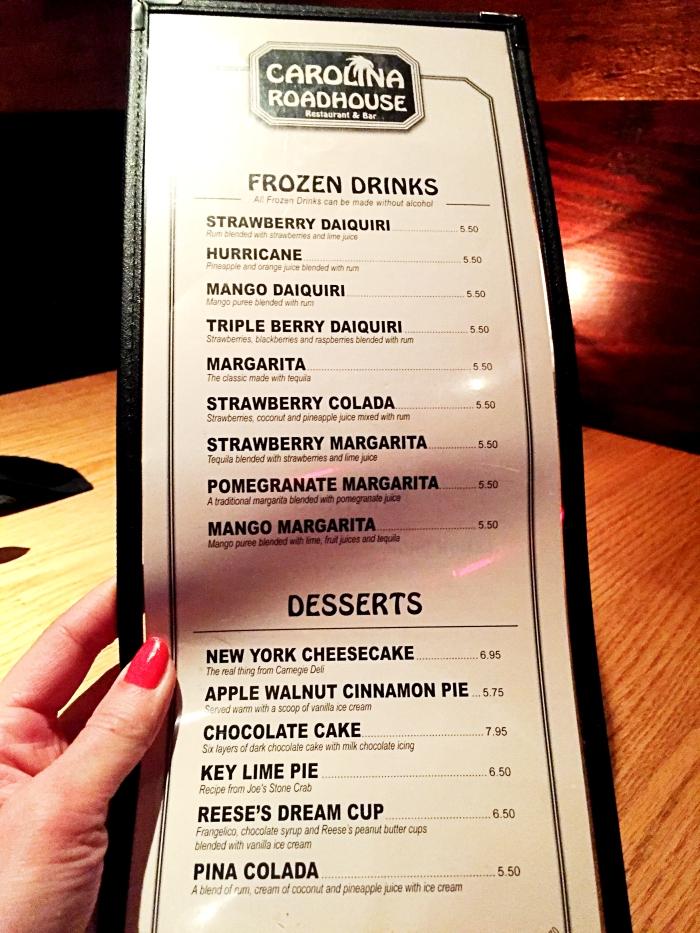 Where To Eat In Myrtle Beach Carolina Roadhouse Dessert Menu