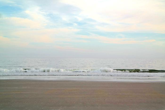 Myrtle Beach January Ocean