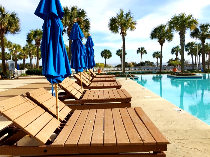 Myrtle Beach Marriott Grand Dunes Pool Chairs