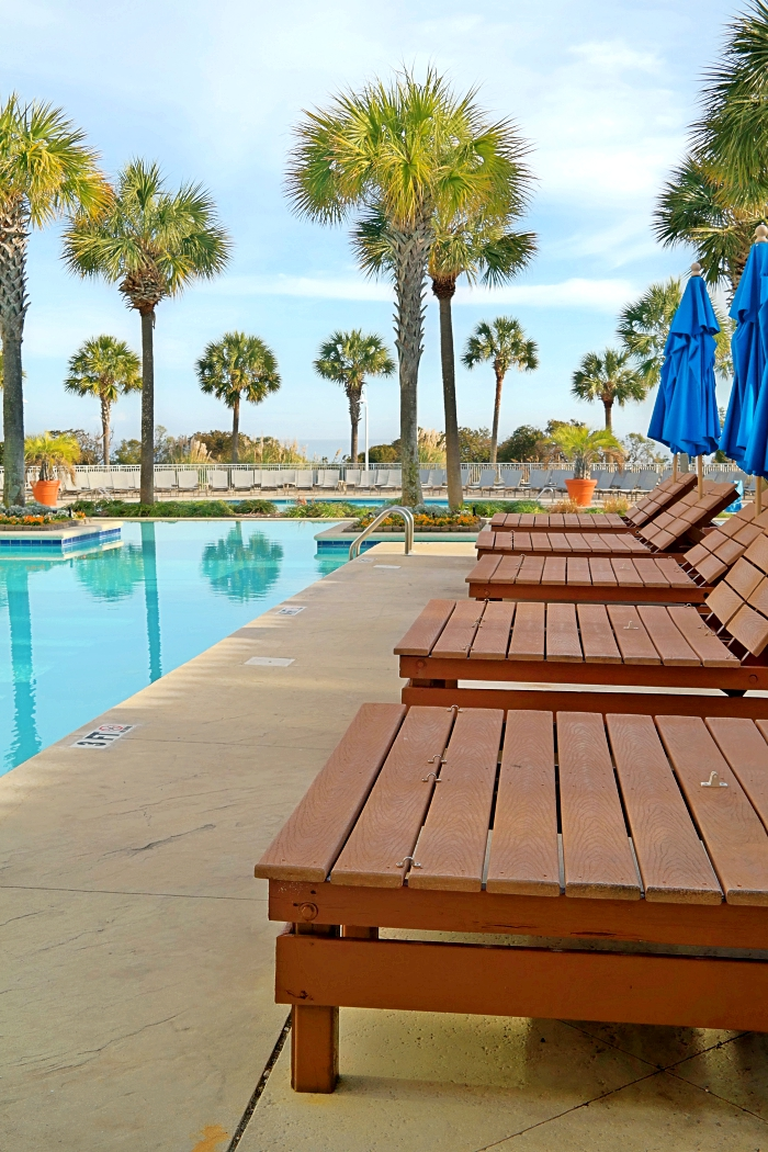 Myrtle Beach Mariott Grand Dunes Poolside