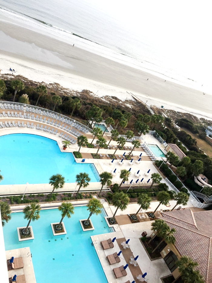 Myrtle Beach Marriott Grand Dunes View From Room Pool