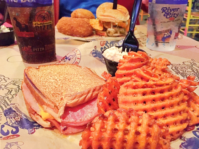 Where To Eat In Myrtle Beach River City Cafe Myrtle Beach Grilled Ham & Cheese Sandwich with Sweet Potato Fries