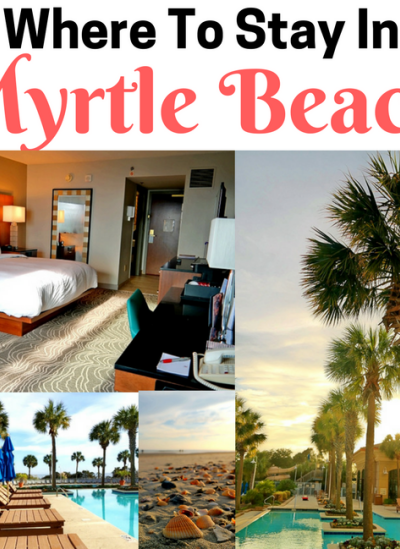 Where To Stay In Myrtle Beach: Marriott Resort & Spa at Grand Dunes