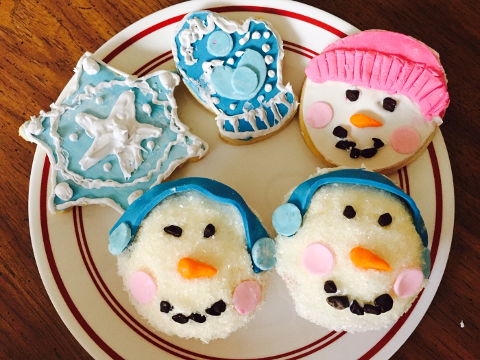 Winter Cookies & Cupcakes