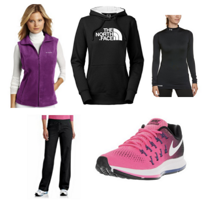 Warm Winter Workout Wear
