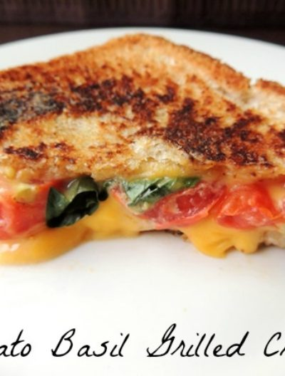 Tomato Basil Grilled Cheese Recipe