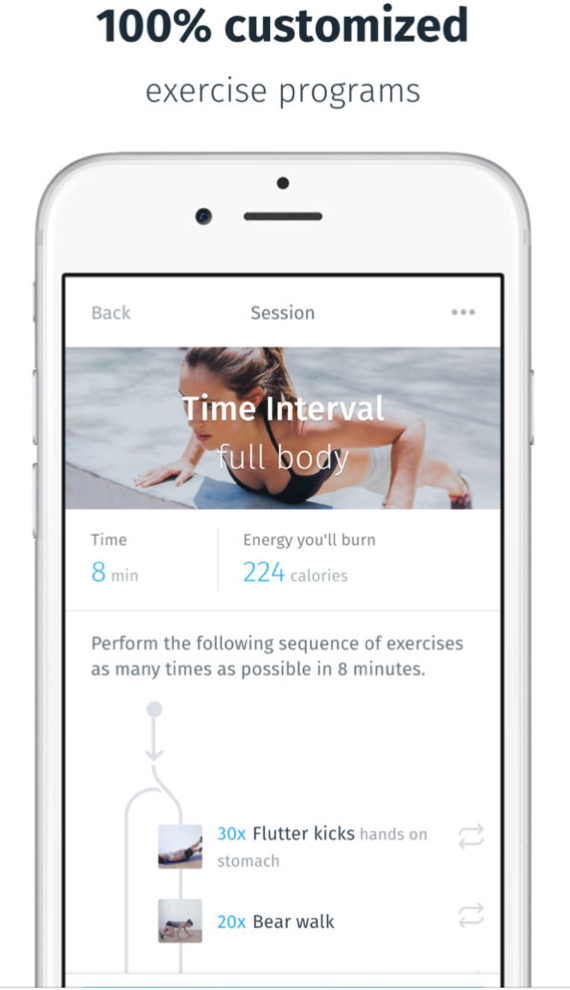 10 Motivating Fitness Apps - 8fit