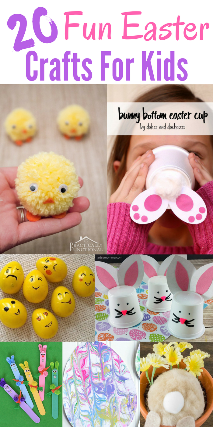 20 Creative Fun Easter Crafts For Kids