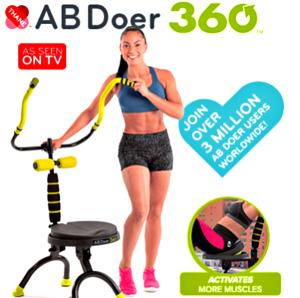 Reader Giveaway: Enter To Win An Ab Doer 360 – $199 Value