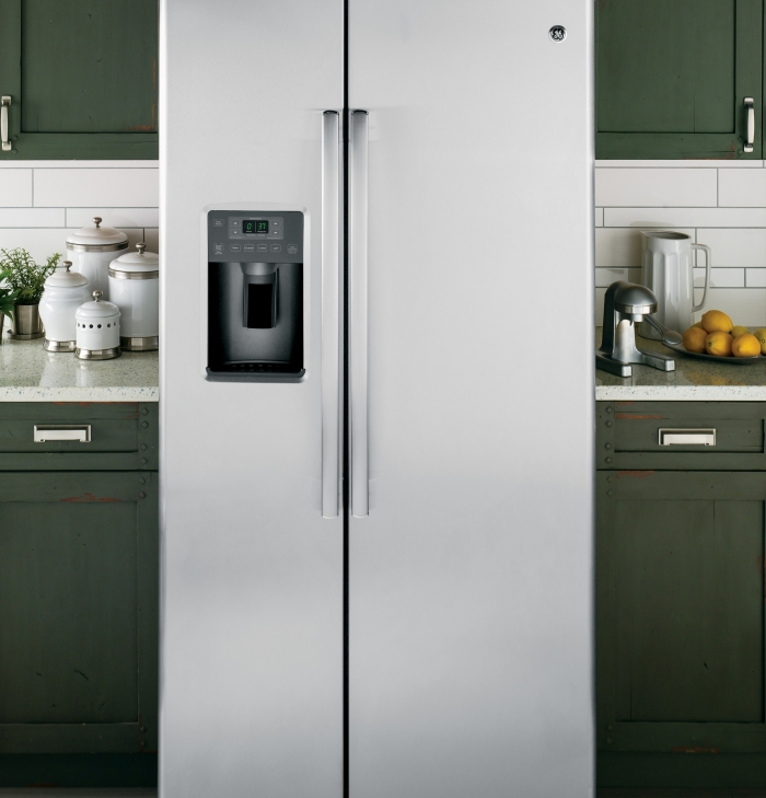 Best Buy GE French Door Fridge