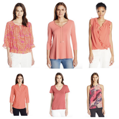 Colorful Tops & Tees For Spring