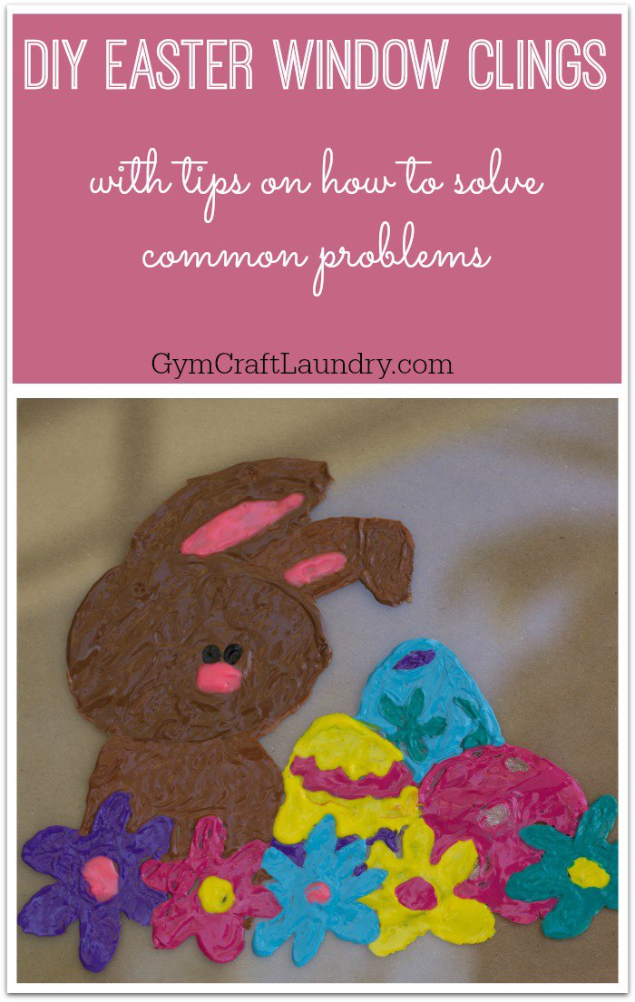 Easter Crafts For Kids - DIY Window Clings