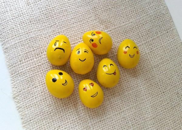Easter Crafts For Kids - Emoji Eggs