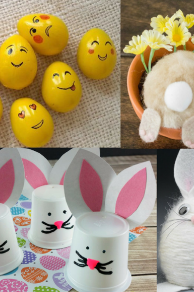 20 Creative & Fun Easter Crafts For Kids