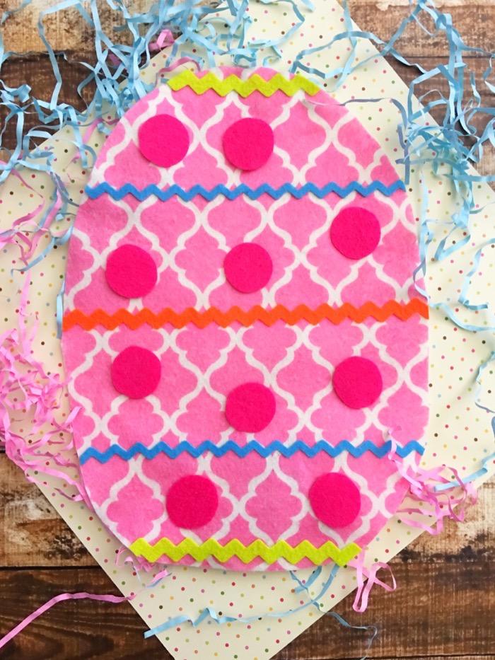 Easter Crafts For Kids - Fun Felt Egg