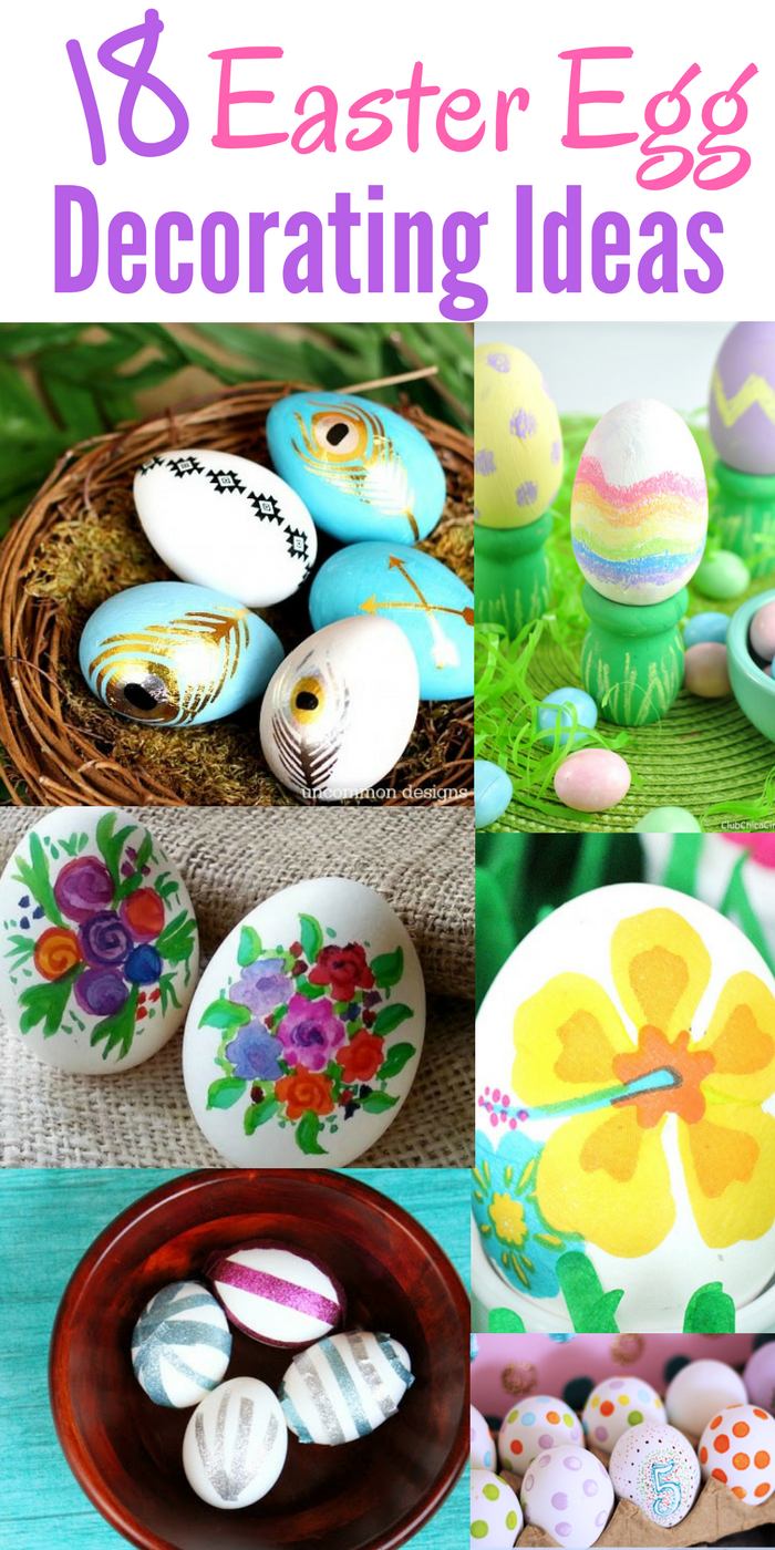 18 easter egg decorating ideas for Easter egg ideas