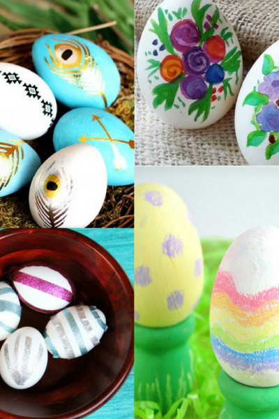 18 Easter Egg Decorating Ideas