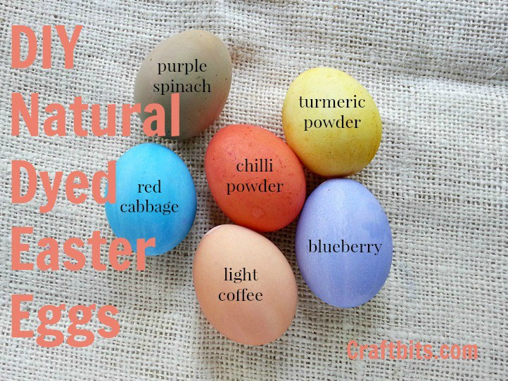 Easter Egg Decorating Ideas -Naturally Dyed Eggs