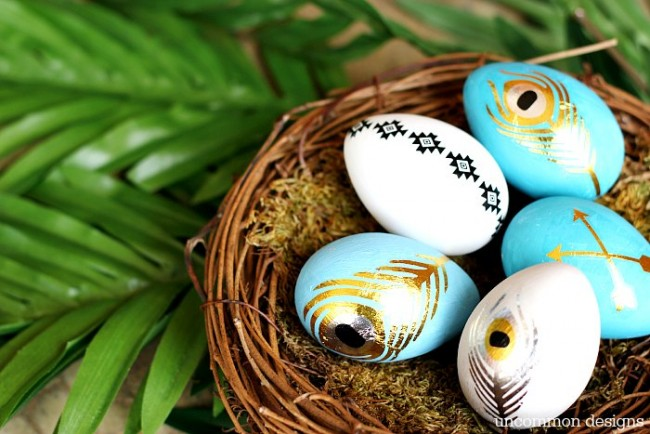 Easter Egg Decorating Ideas - Tattoo