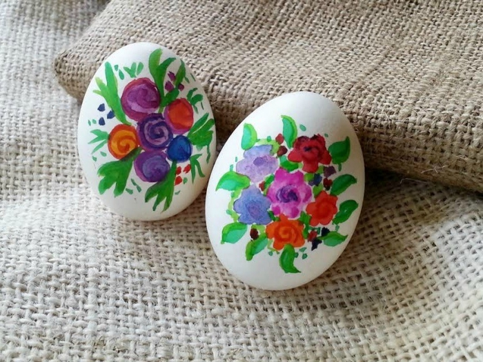 Easter Egg Decorating Ideas - Watercolor
