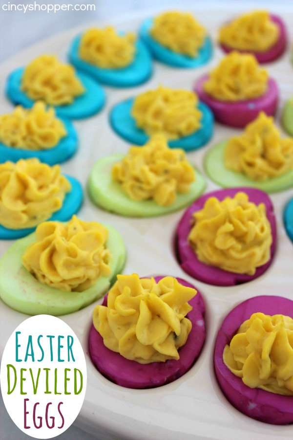 Easter Recipes - Easter Deviled Eggs