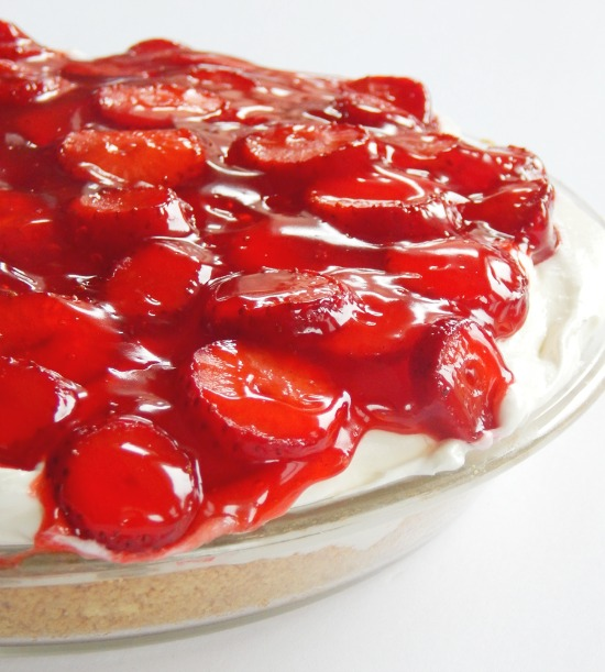 Easter Recipes - Strawberry Shortcake Pie