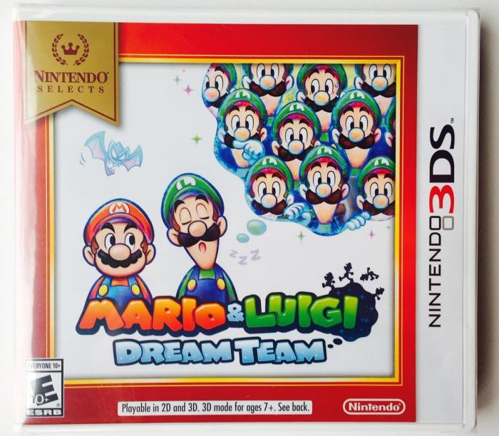 Nintendo 3DS Gift Guide - Mario & Luigi DreamTime