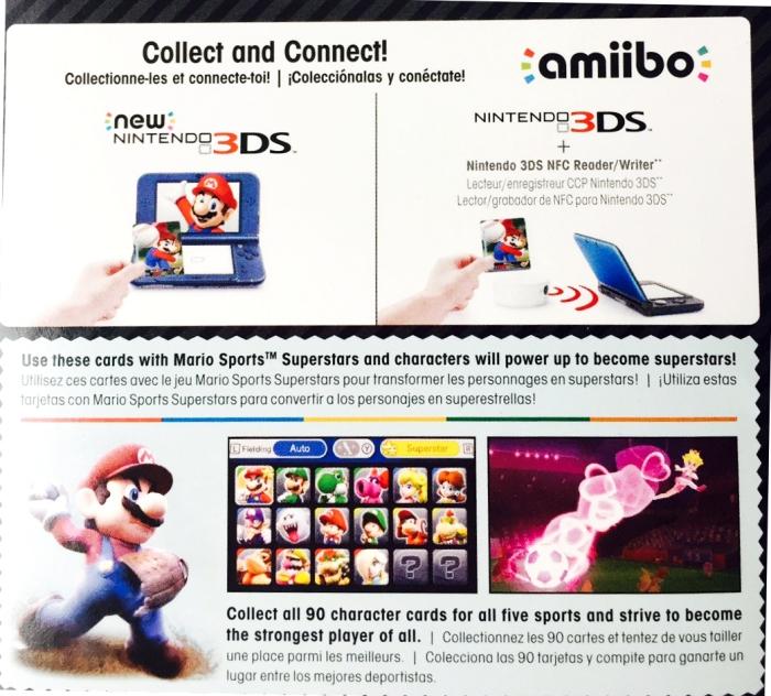Nintendo 3DS Gift Guide Mario Spors Amiibo Back