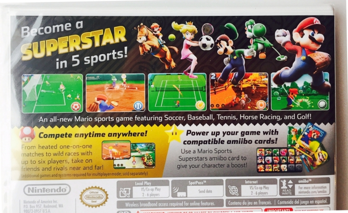 Nintendo 3DS Gift Guide Mario Sports Superstars Back