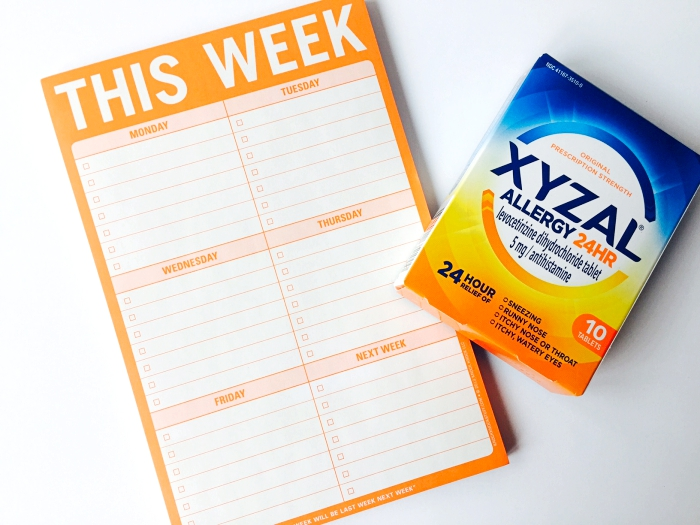 Xyzal To Do List