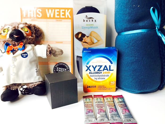 Xyzal Wise Up Rise Up Prize Pack