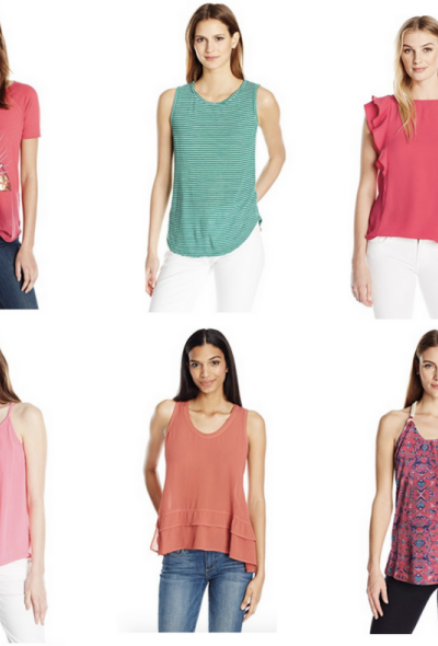 Colorful Tanks & Tees For Spring & Summer