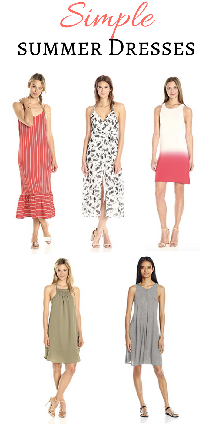 Fashion Find Simple Summer Dresses
