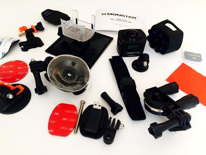 Monster Digital Vision 360 Camera Accessories