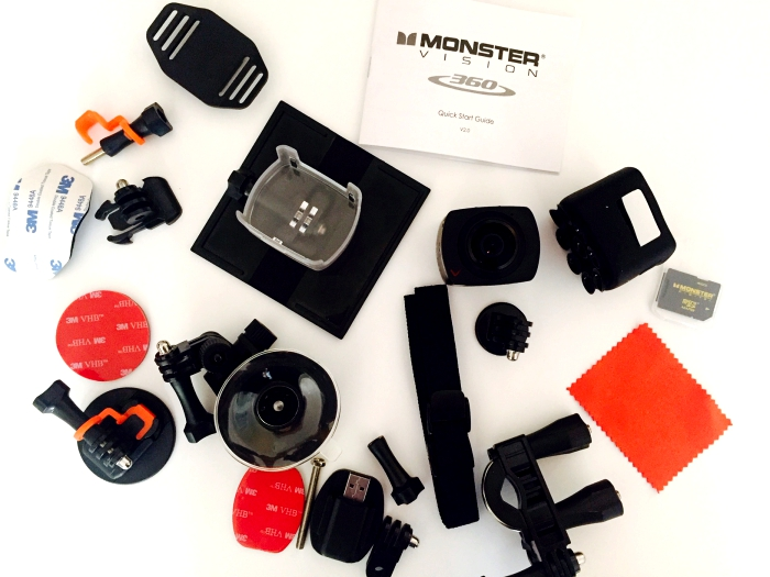 Monster Digital Vision 360 Camera Accessories