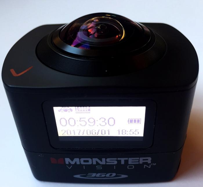 Monster Digital Vision 360 Camera Review