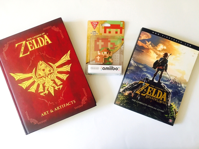 Nintendo Switch Zelda Books