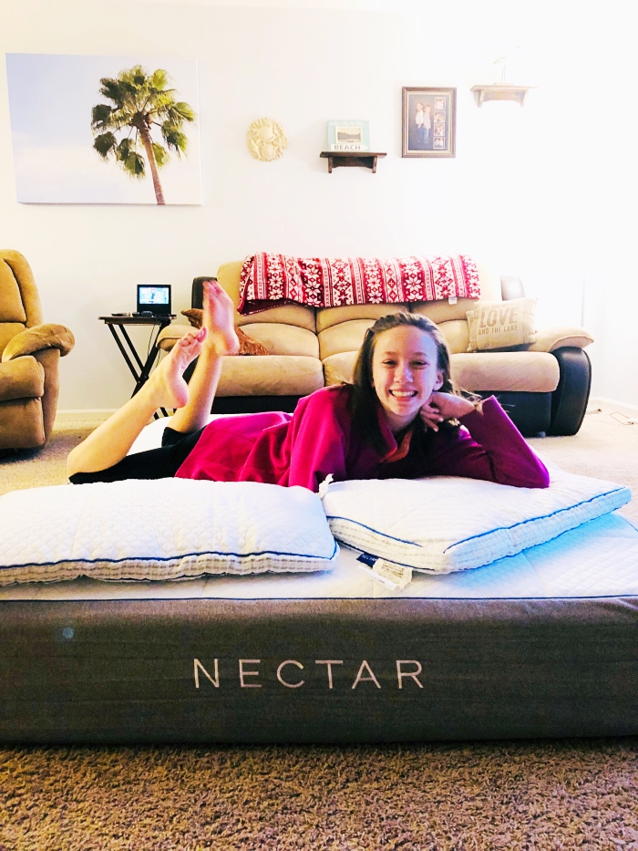 Nectar Mattress Review Pillows - Before 2 Wired 2 Tired